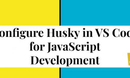Configure Husky in VS Code for JavaScript  Development