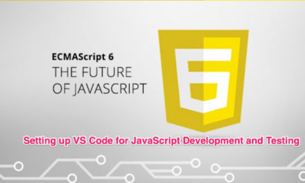 How to configure Visual Studio Code (IDE) for JavaScript Development